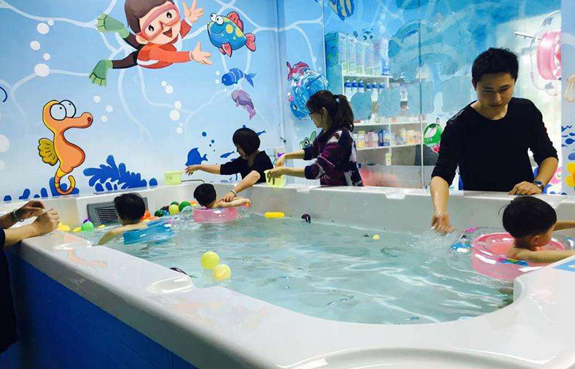 婴儿亲子泳池恒温解决方案